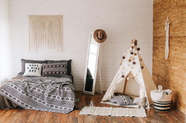 La décoration d'une chambre à couché style chic